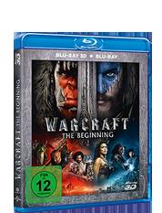Warcraft: The Beginning 3D (Blu-ray 3D + Blu-ray)