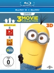 Minions / Ich - Einfach unverbesserlich / Ich - Einfach unverbesserlich 2 (Blu-ray 3D + Blu-ray)