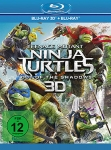 Teenage Mutant Ninja Turtles: Out of the Shadows - 3D (Blu-ray 3D + Blu-ray)