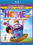 Home - Ein smektakulärer Trip 3D (Party Edition) (Blu-ray 3D + Blu-ray)